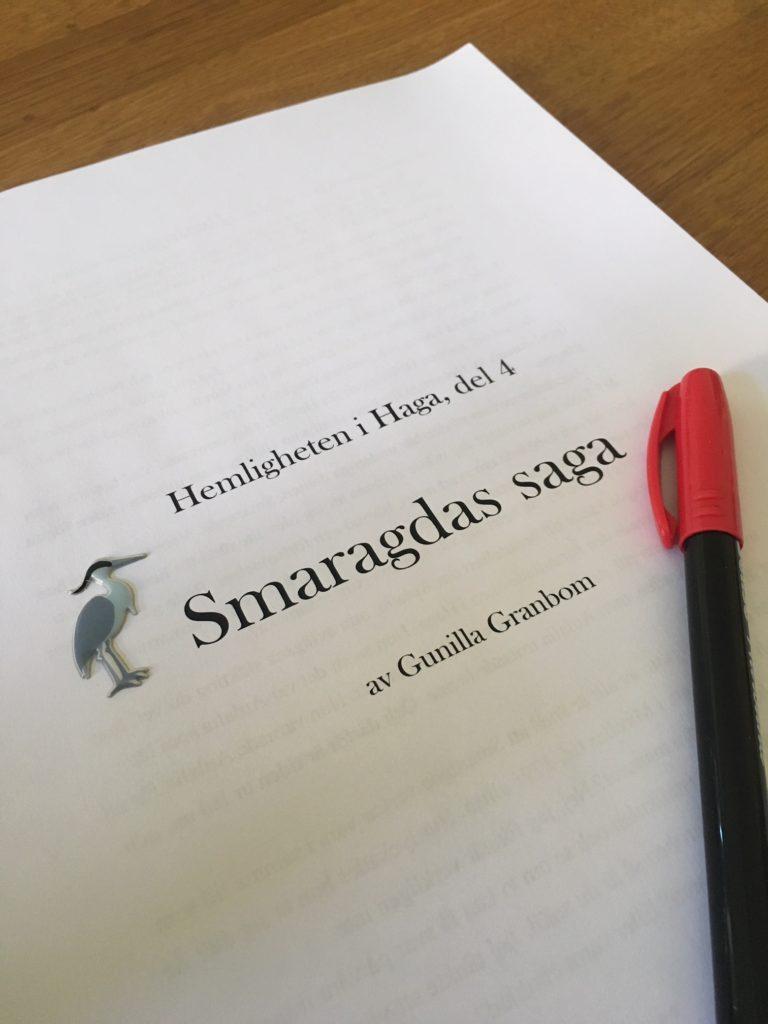 Manus till Smaragdas saga